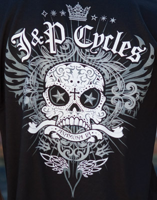 J&P Cycles® Skull T-Shirt