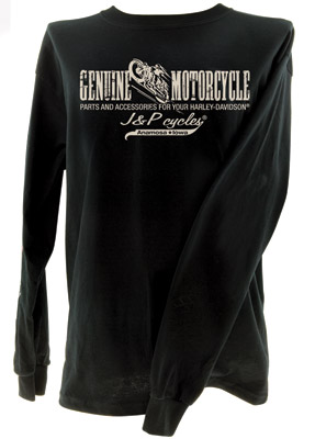 J&P Cycles® Genuine Motorcycle Parts T-shirt