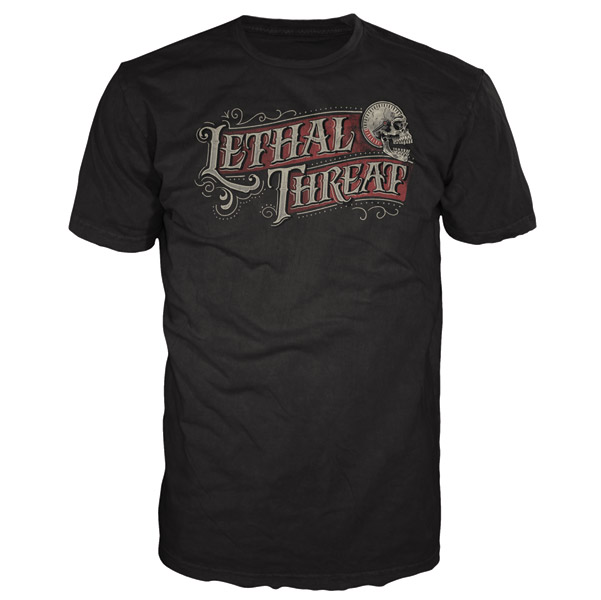 Lethal Threat Calligraphy T-shirt