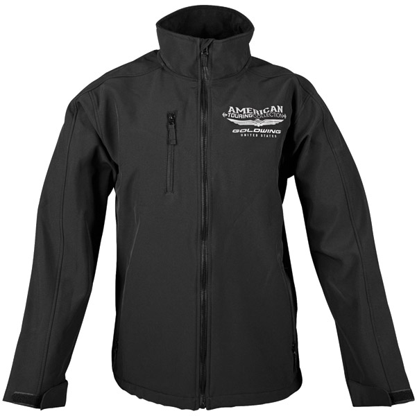 Honda Gold Wing Men's Touring Collection Black Soft Shell Jacket
