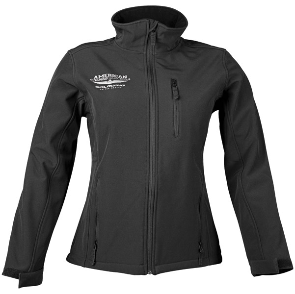 Honda Gold Wing Women's Touring Collection Black Soft Shell Jacket