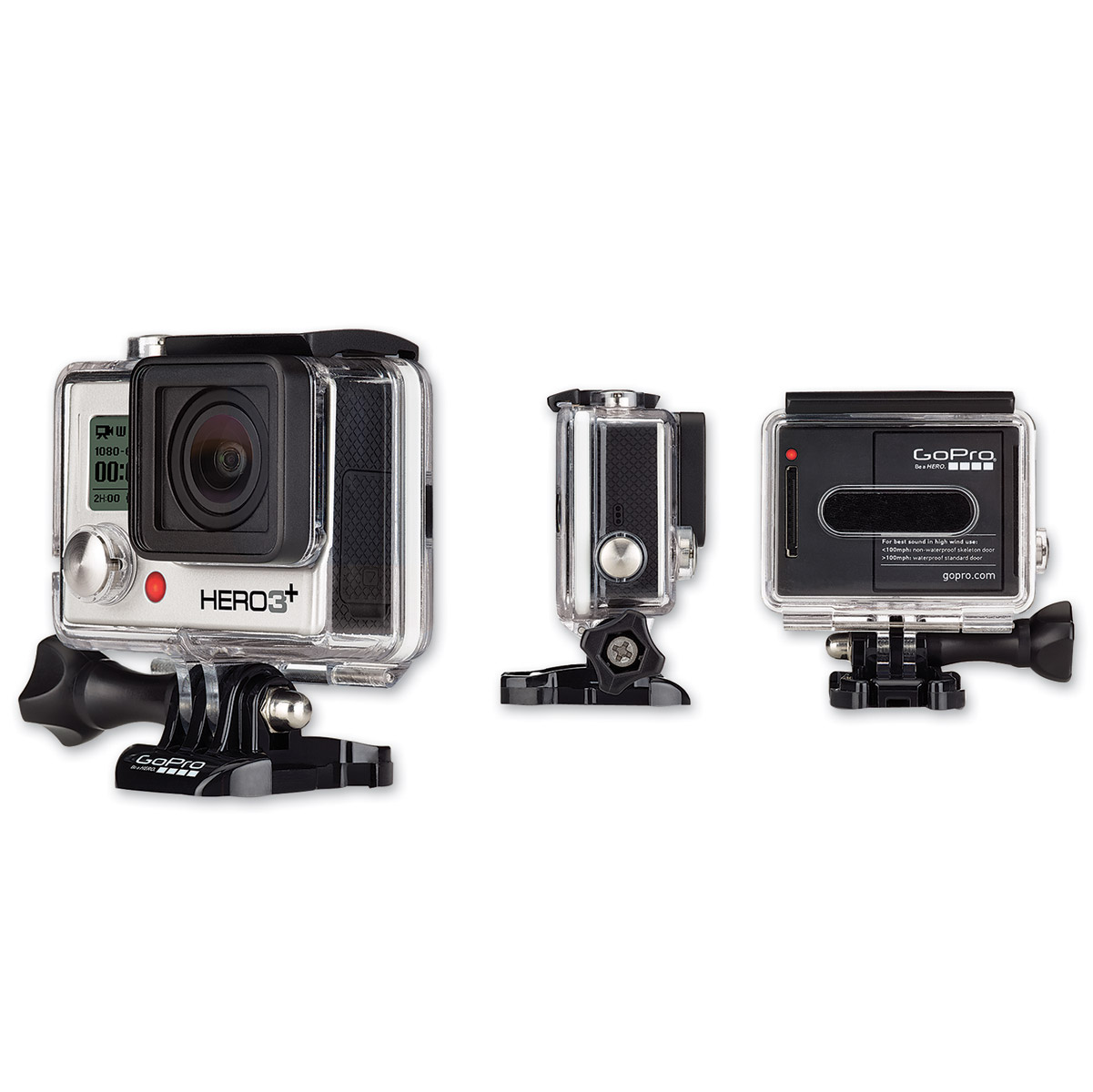 GoPro HD HERO3+ Silver Motorsports Edition Camera