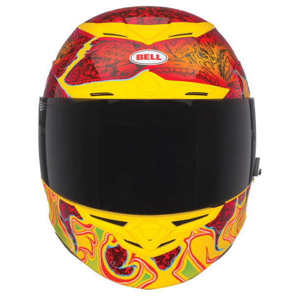 Bell RS-1 Airtrix Melt Down Full Face Helmet