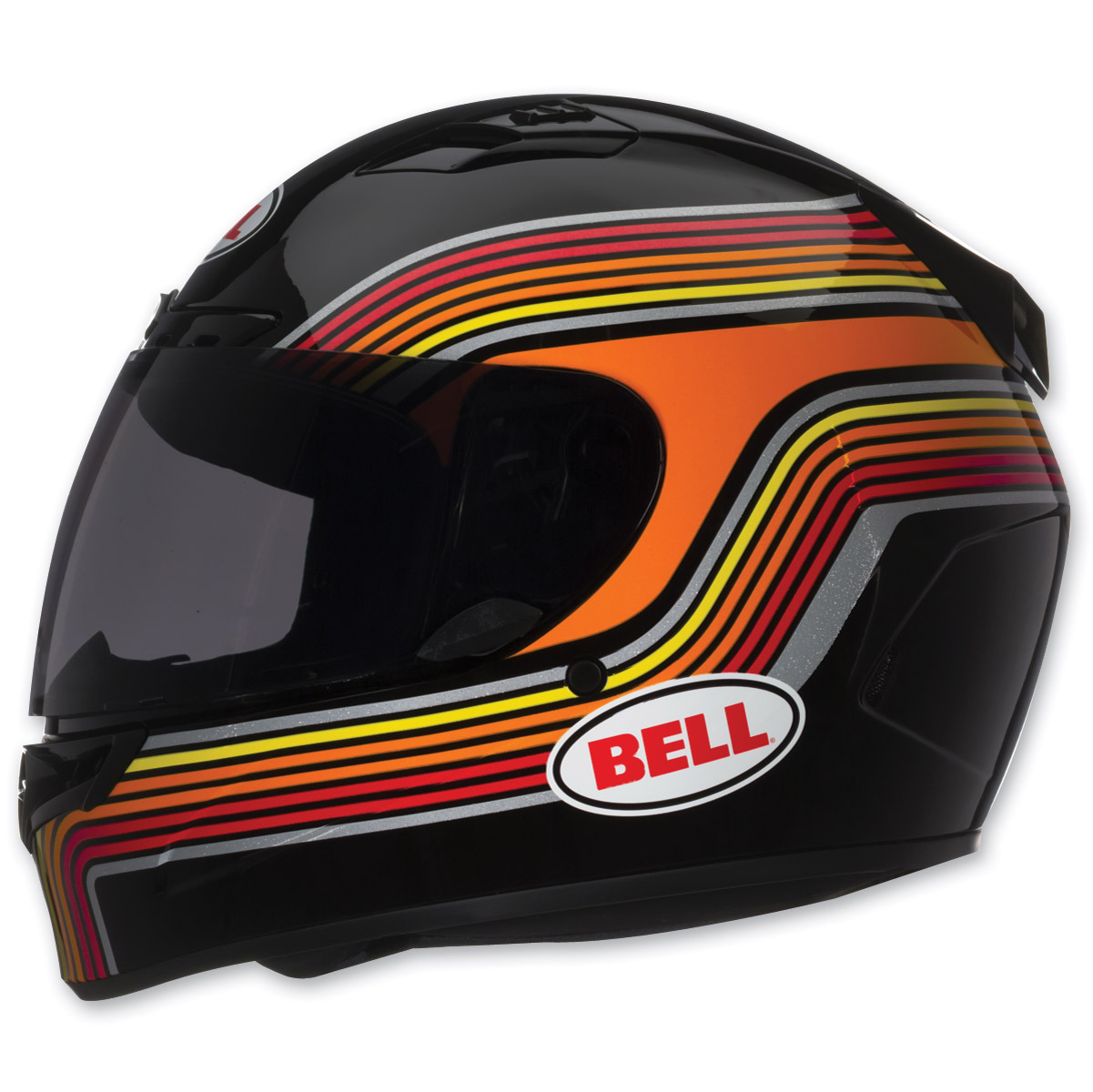 Bell Vortex Band Black Full Face with Face Shield Helmet