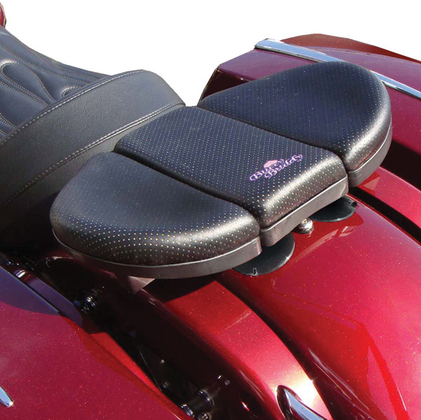 Butty Buddy Passenger Seat for Bare Fender Application