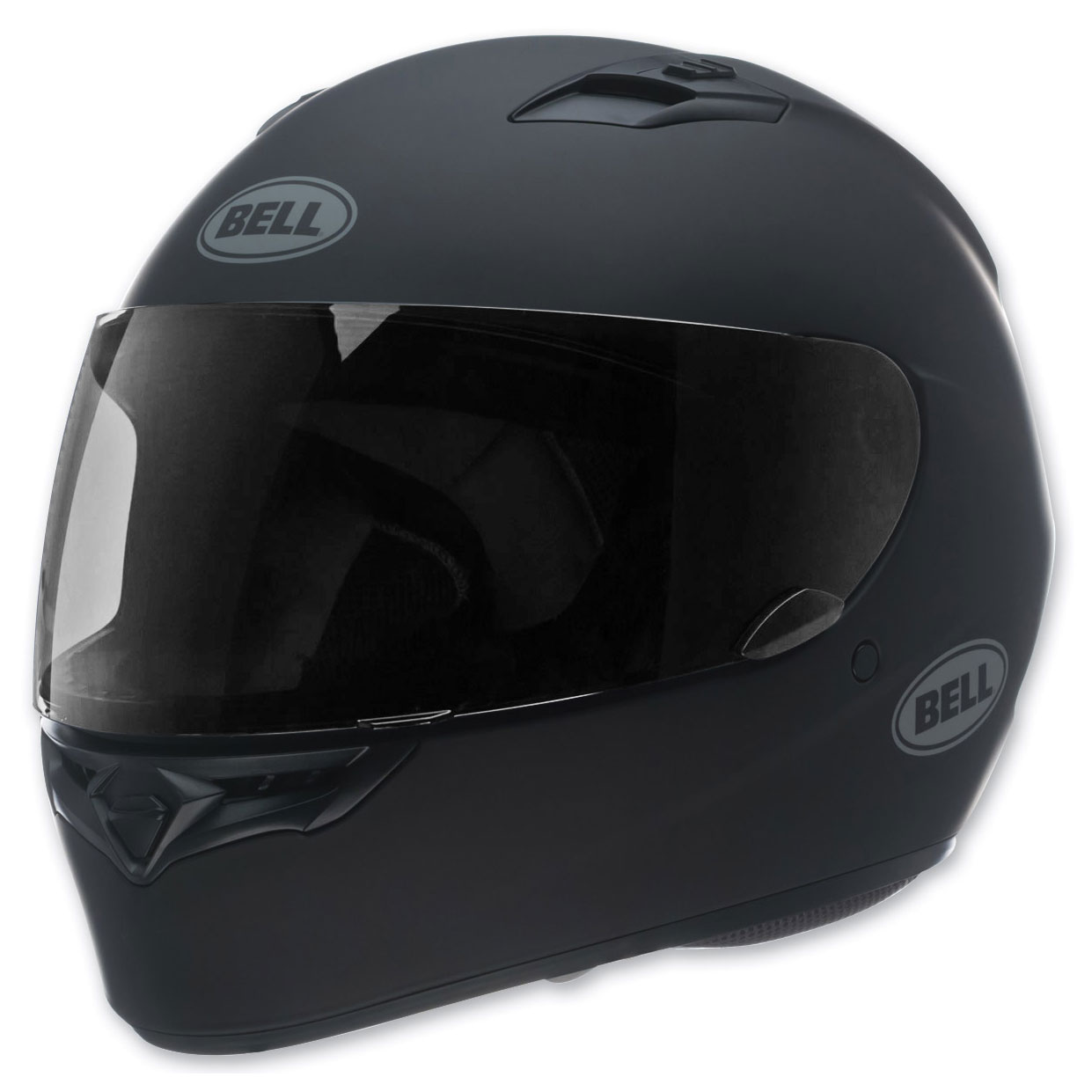 Bell Full Face Helmet >> Bell Solid Matte Black Qualifier Full Face Helmet 7049223