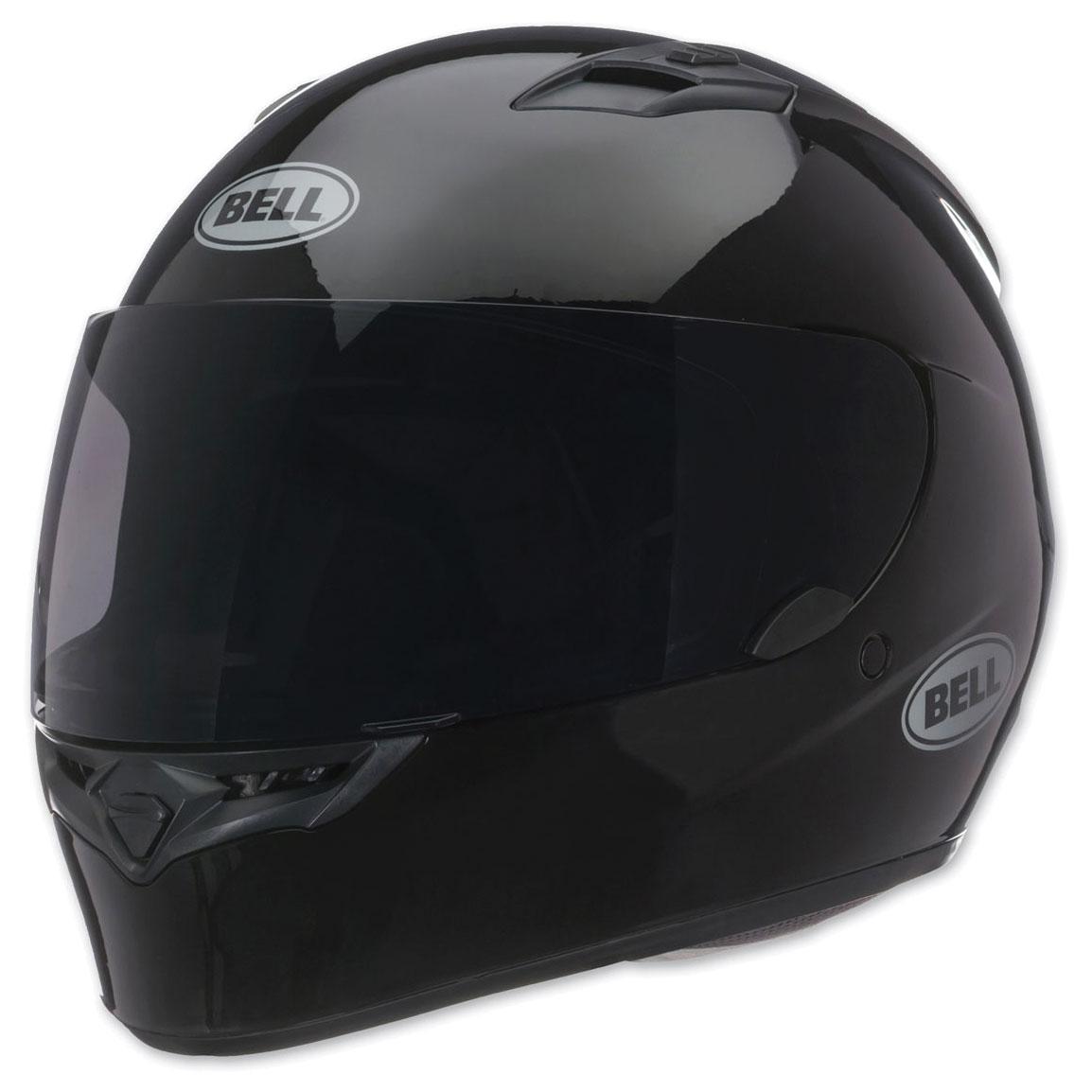 Full Motorcycle Helmet >> Bell Gloss Black Qualifier Full Face Helmet 103 218 J P Cycles