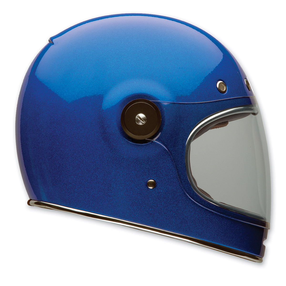 Bell Blue Flake Bullitt Full Face Helmet