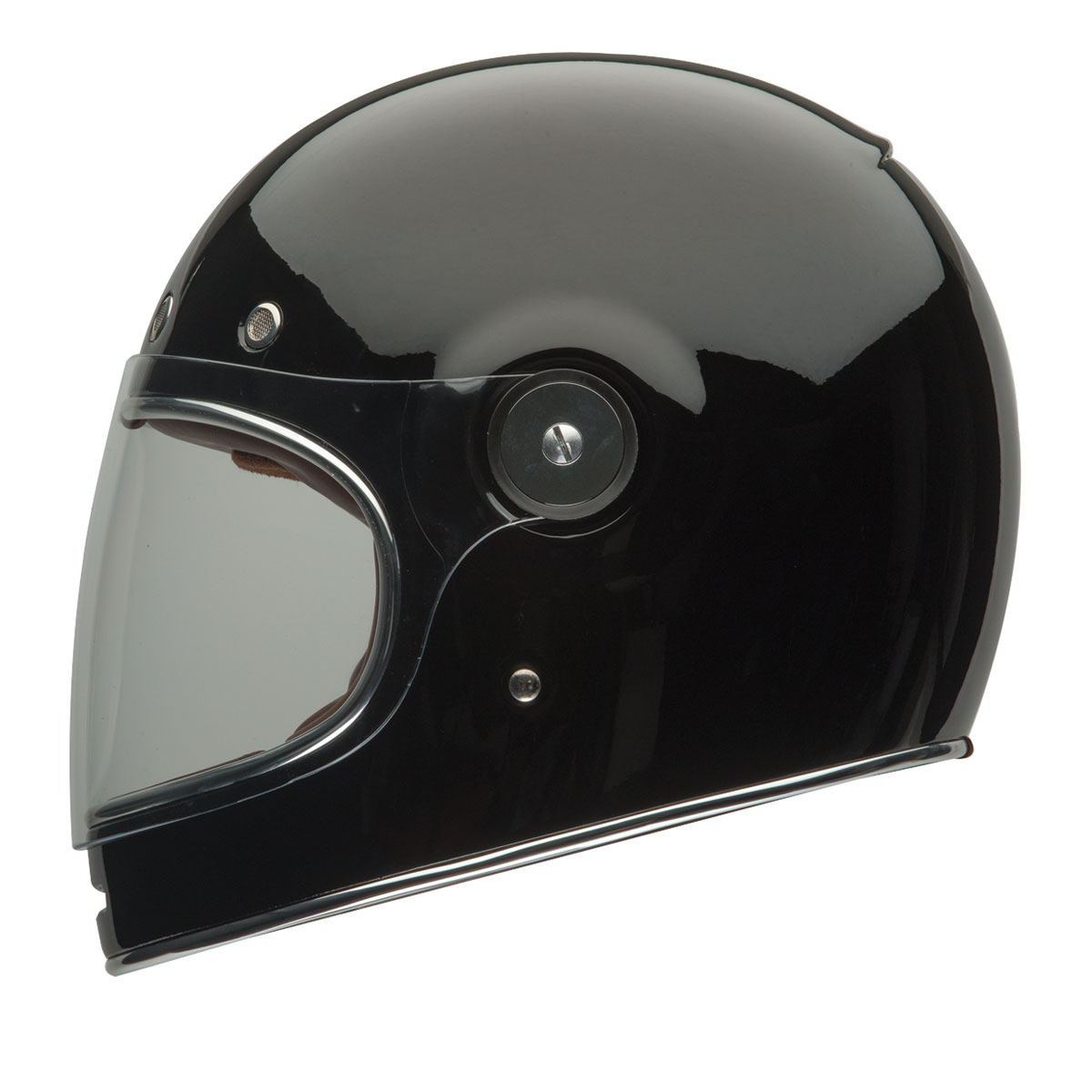 Full Motorcycle Helmet >> Bell Solid Black Bullitt Full Face Helmet 103 288 J P Cycles
