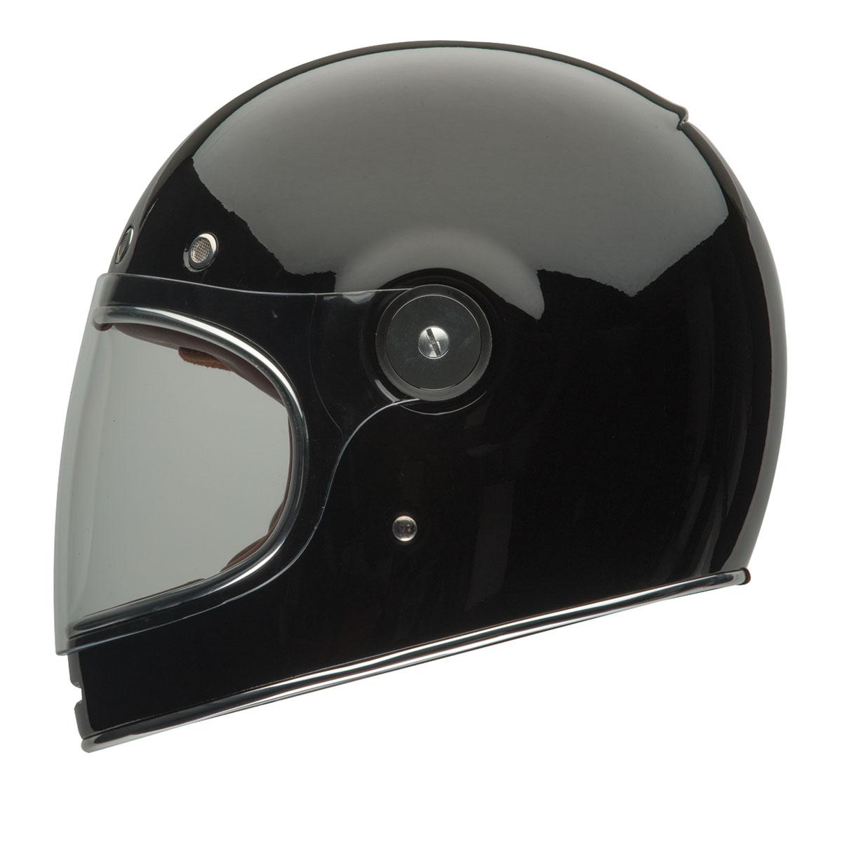 Full Motorcycle Helmet >> Bell Solid Black Bullitt Full Face Helmet 103 292 J P Cycles