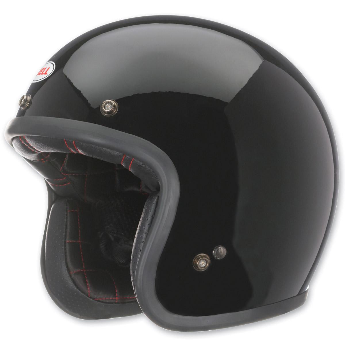 Bell Custom 500 Black Open Face Helmet