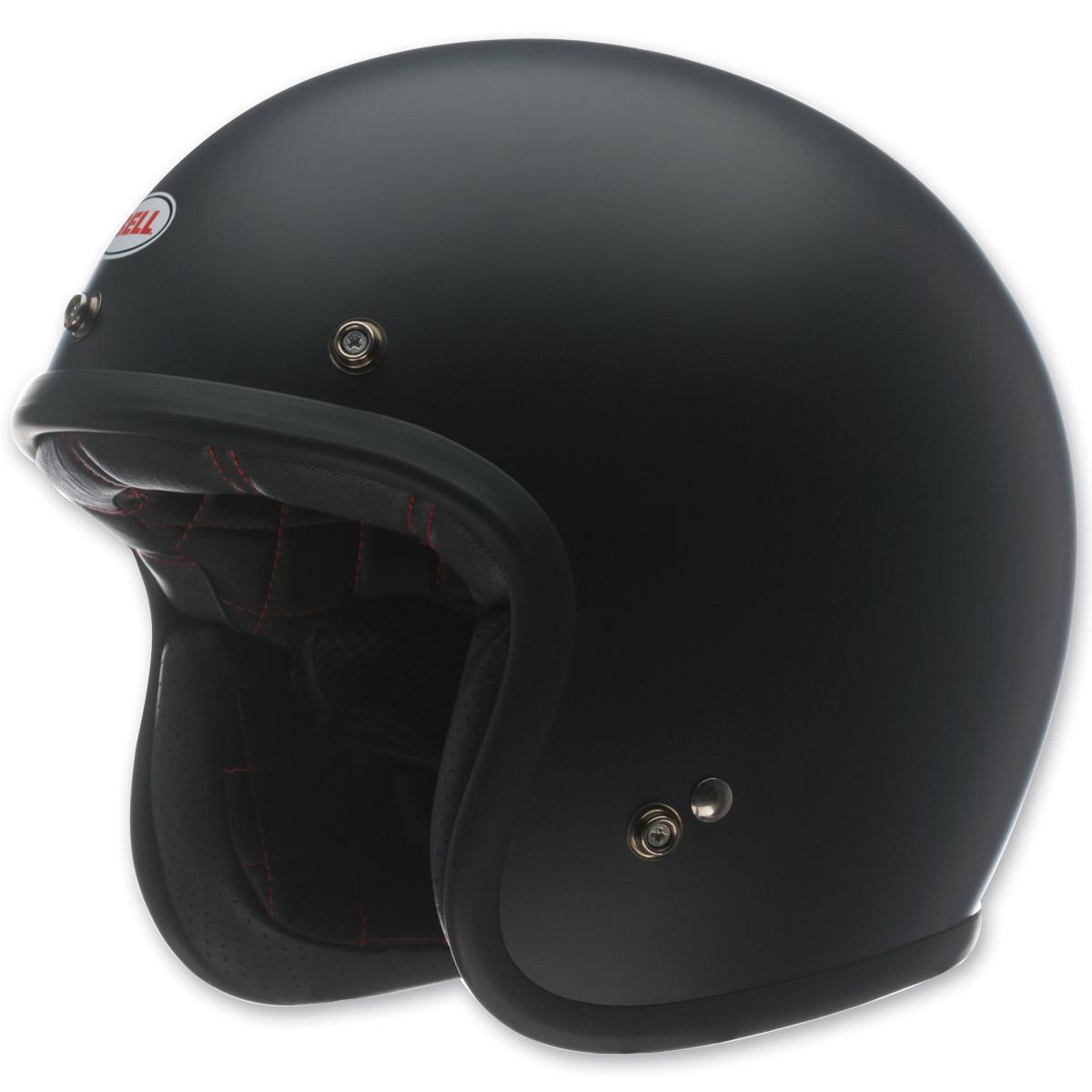 Bell Custom 500 Matte Black Open Face Helmet