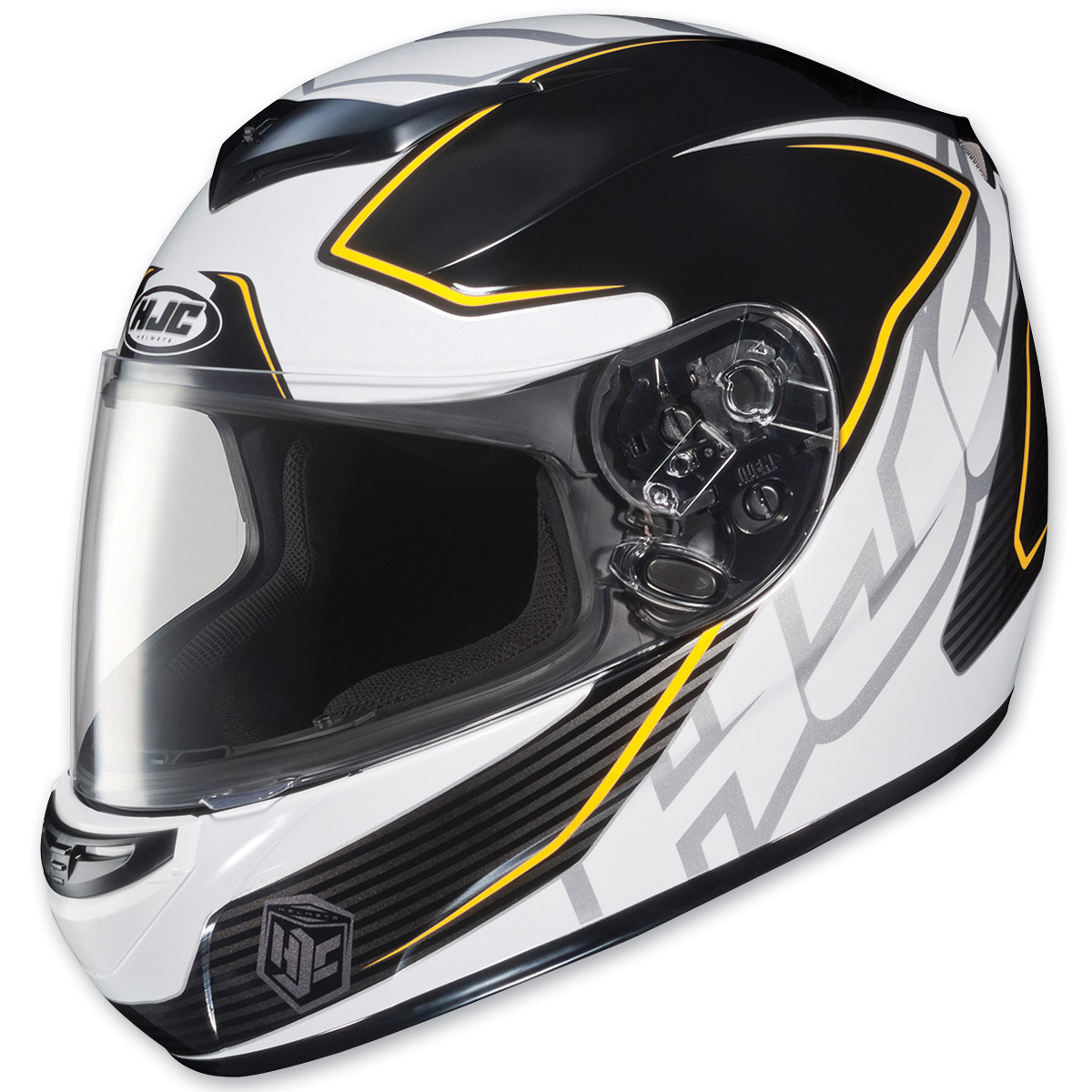 HJC CS-R2 Injector Yellow Stripe Full Face Helmet