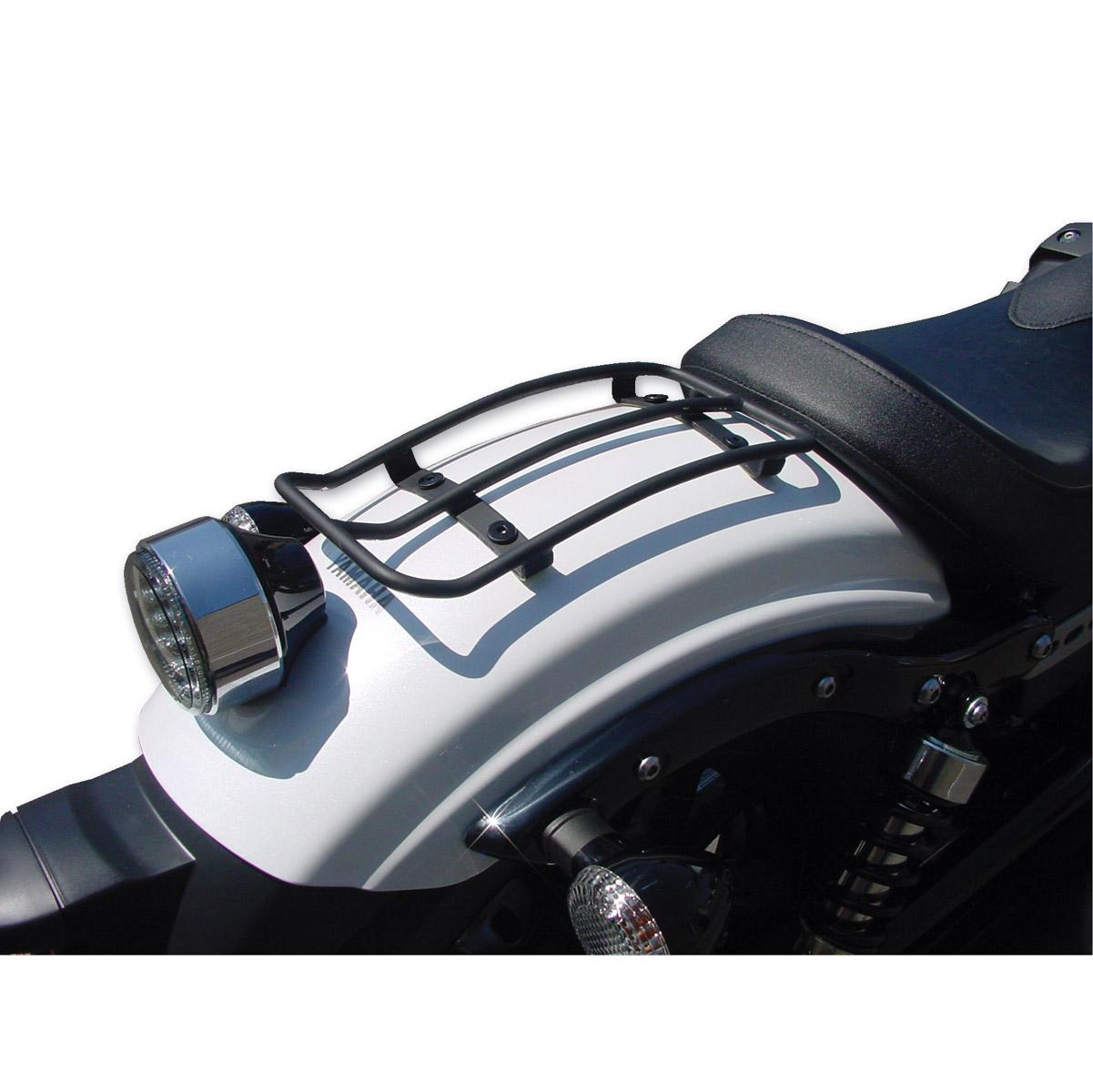 Mc Enterprises Black Rear Fender Mini Rack