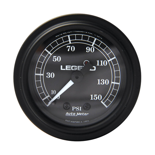 Legend LED Backlit Air Gauge-Black