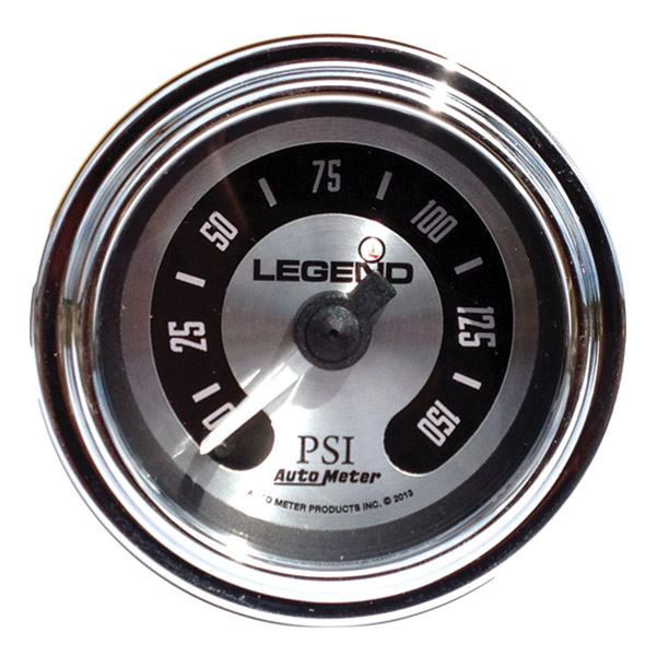 Legend Suspension LED Backlit Air Gauge-Titanium