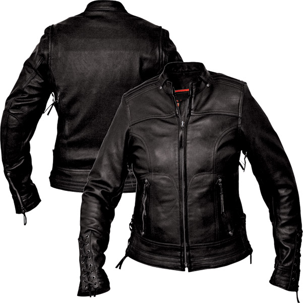 Interstate Leather Women's Jazz Black Leather Jacket | 103-647 ...