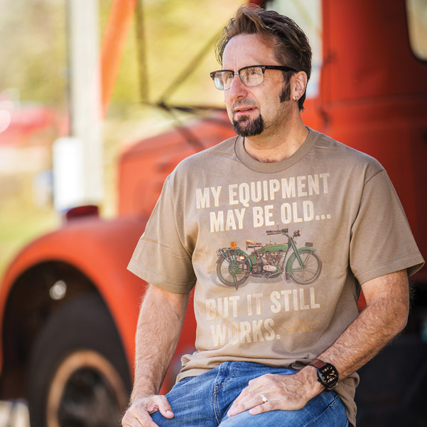 J&P Cycles® Men's Old Equipment T-Shirt