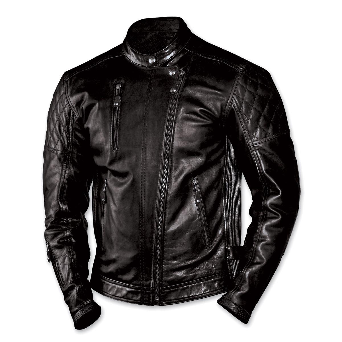 Roland Sands Design Men's Clash Black Leather Jacket