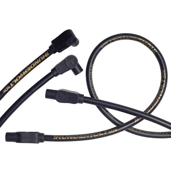 Sumax Black 10.4mm Thundervolt Spark Plug Wire Set