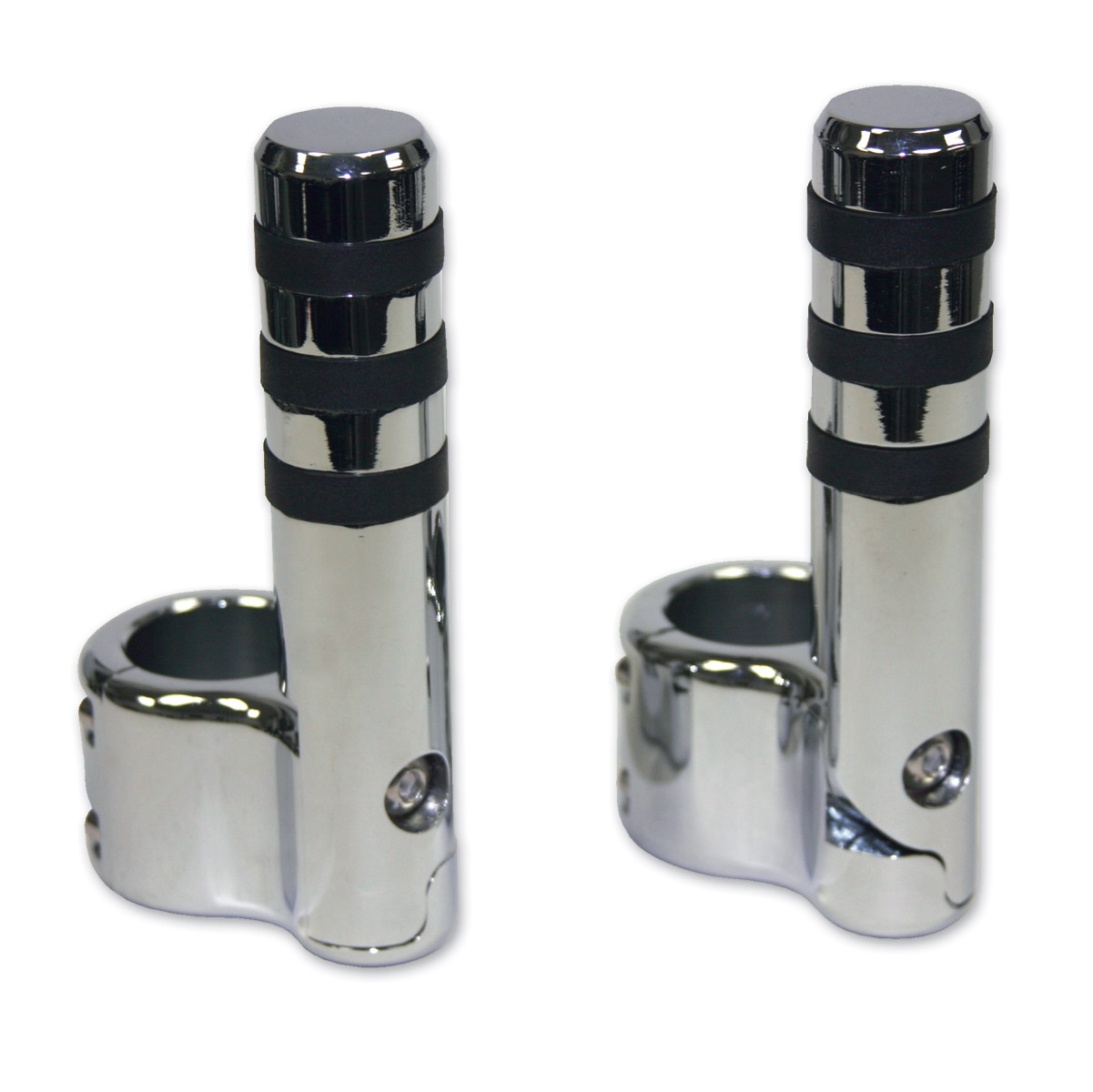 Lindby Custom Chrome Clamp-on Footpeg for Magnumbar