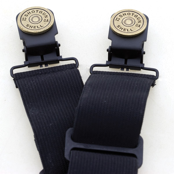 Faarken Inc. 12 Gauge Shotgun Shell Biker Stirrups