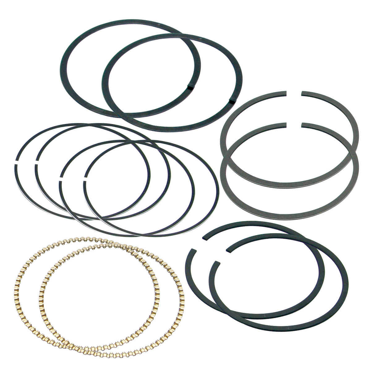 S&S Cycle Chromloy Piston Ring Set +.005
