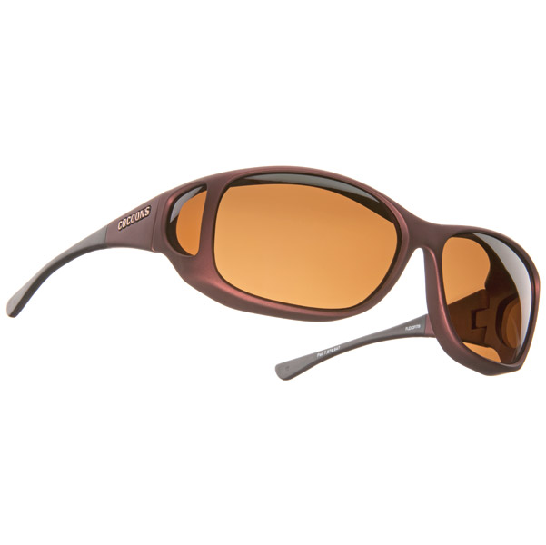 Cocoons MX Burgundy Frame Sunglasses