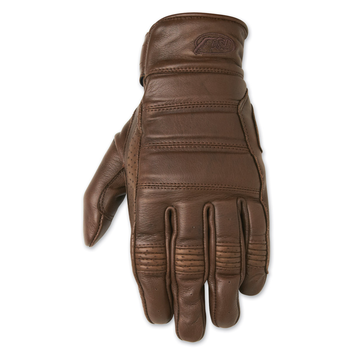 Roland Sands Design Ronin Men's Tobacco Brown Leather Gloves