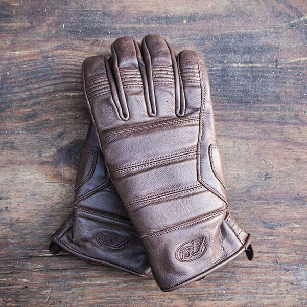 Roland Sands Design Ronin Men's Tobacco Brown Leather Gloves