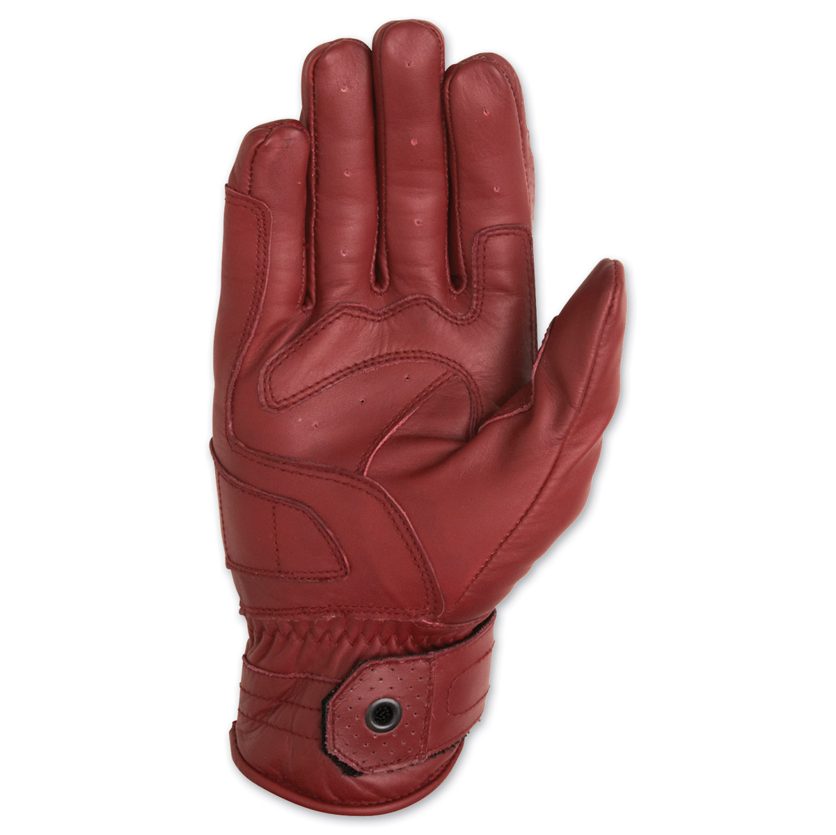 Roland Sands Design Ronin Men's Oxblood Red Leather Gloves