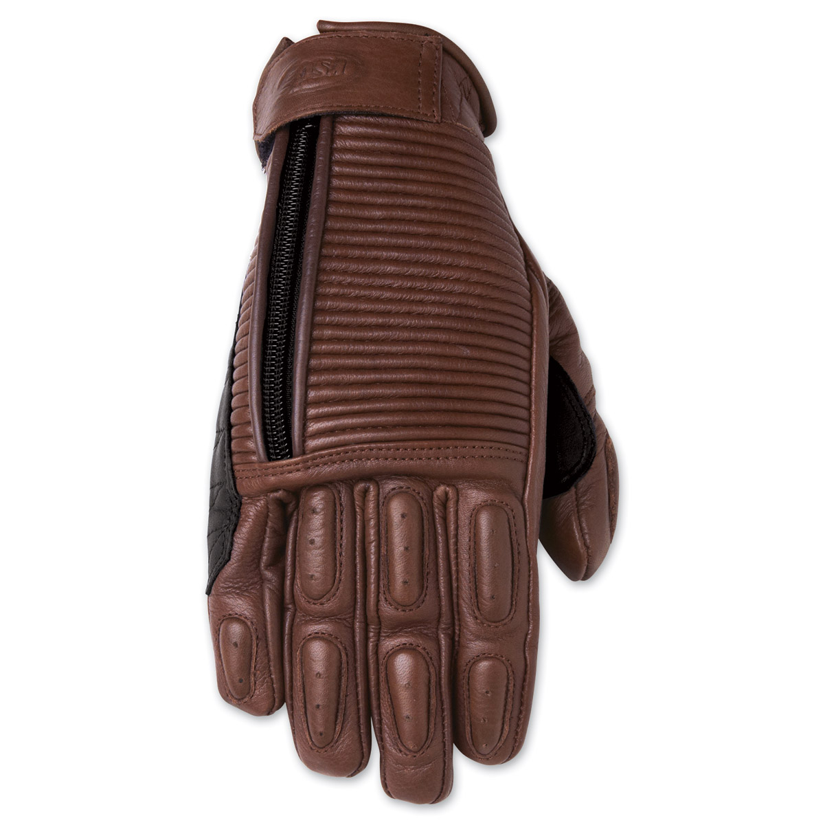 Roland Sands Design Gezel Ladies Tobacco Brown Leather Gloves