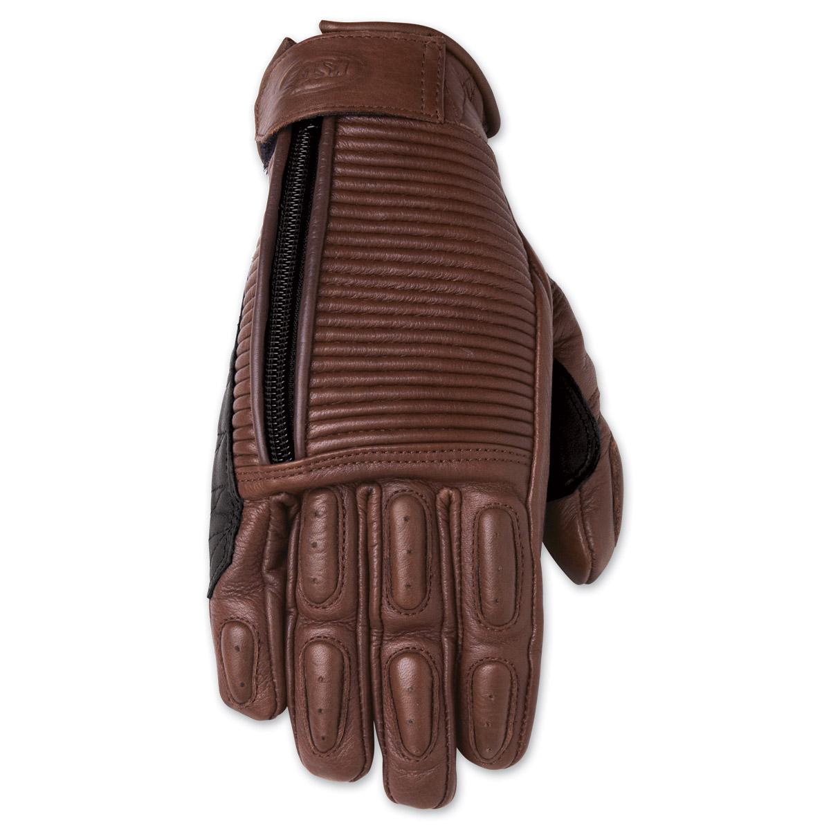 Roland Sands Design Gezel Ladies Tobacco Brown Leather Gloves