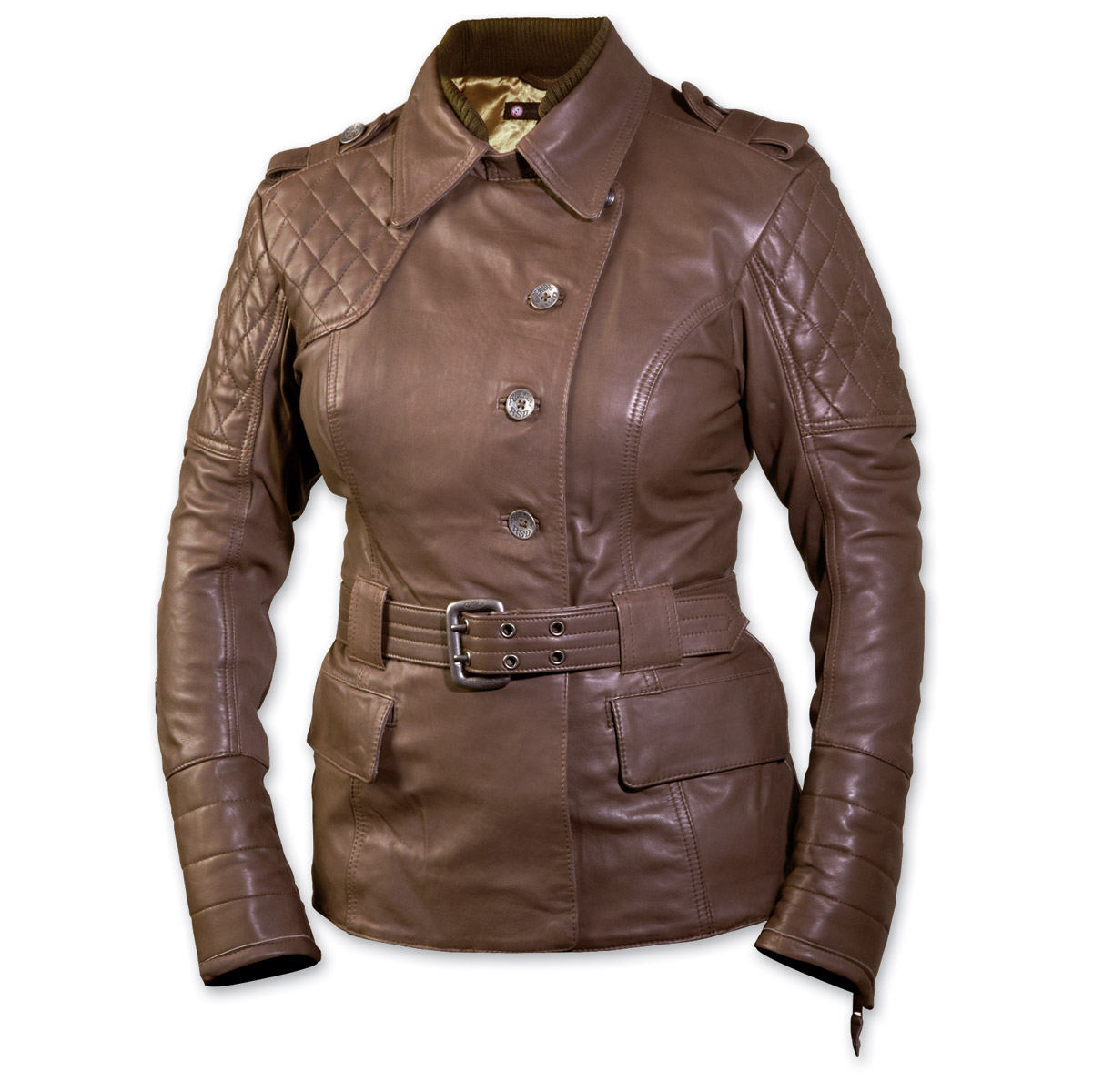 Roland Sands Design Oxford Ladies Clay Leather Jacket