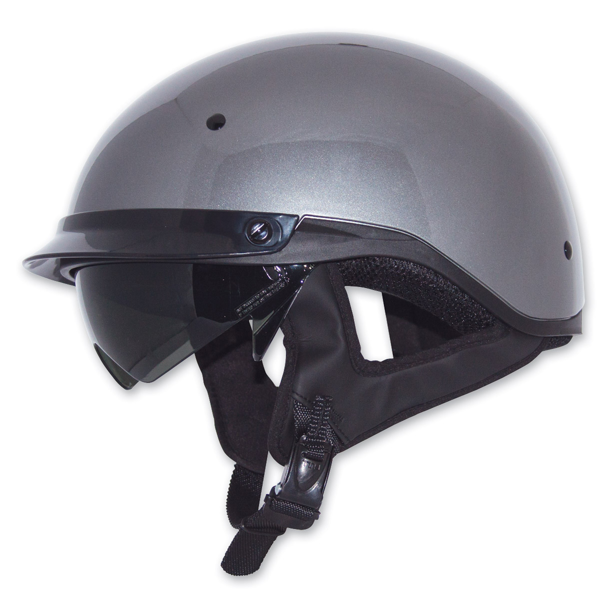 818 H351 Off-Road Motocross Helmet Black//Silver, Small H351 BLACK-SILVER S