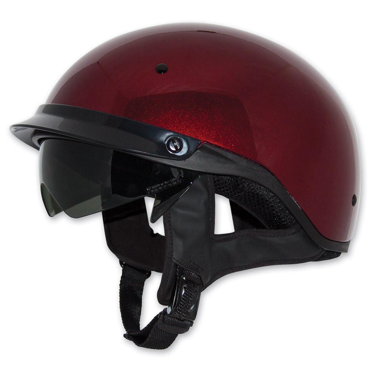 4cecbb28 Zox Roadster DDV Candy Red Half Helmet - Z88-00482 | JPCycles.com