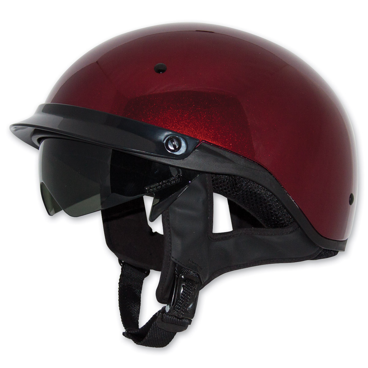 Zox Roadster DDV Candy Red Half Helmet