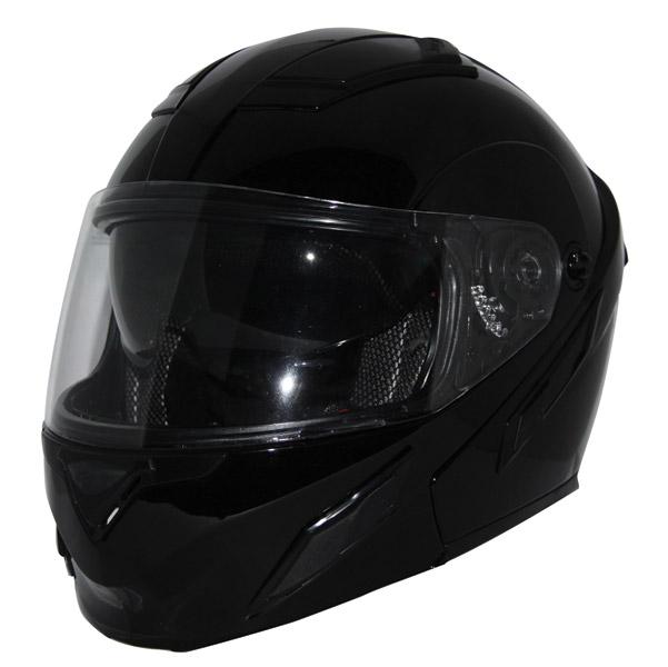 Zox Brigade SVS Gloss Black Modular Helmet