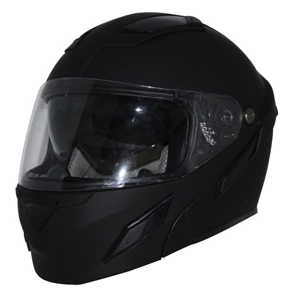 Zox Brigade SVS Matte Black Modular Helmet