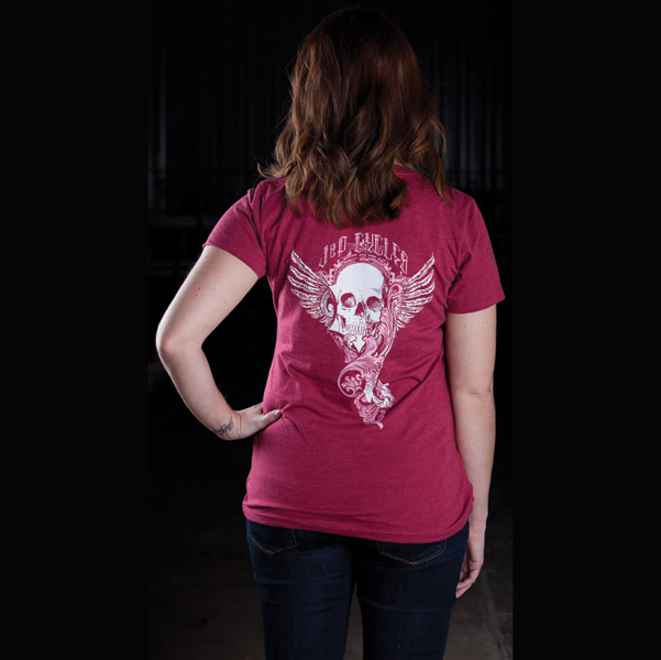 J&P Cycles® Rose Skull T-shirt