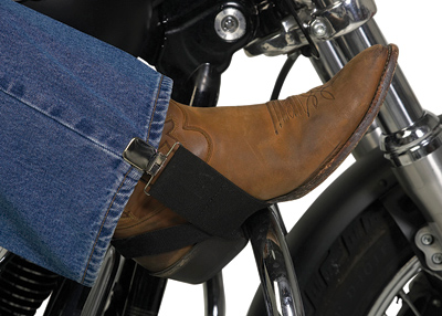 Hold-Down Biker Stirrups