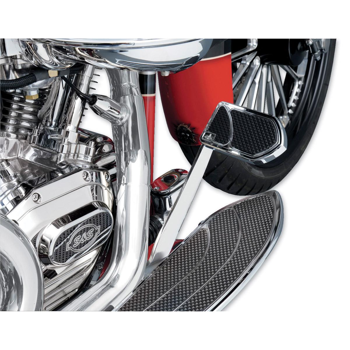 Carl Brouhard Designs Chrome Elite Brake Pedal Cover