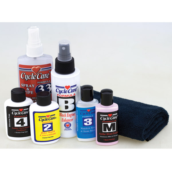 Cycle Care Starter Sampler Kit