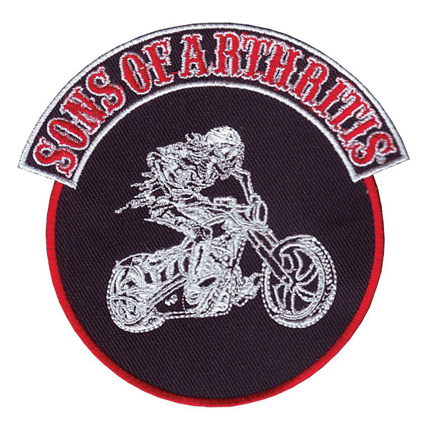 Sons of Arthritis 4″X4″ Round Patch