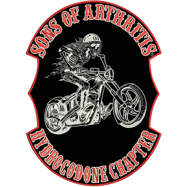 Sons of Arthritis Ibuprofen Back Patch