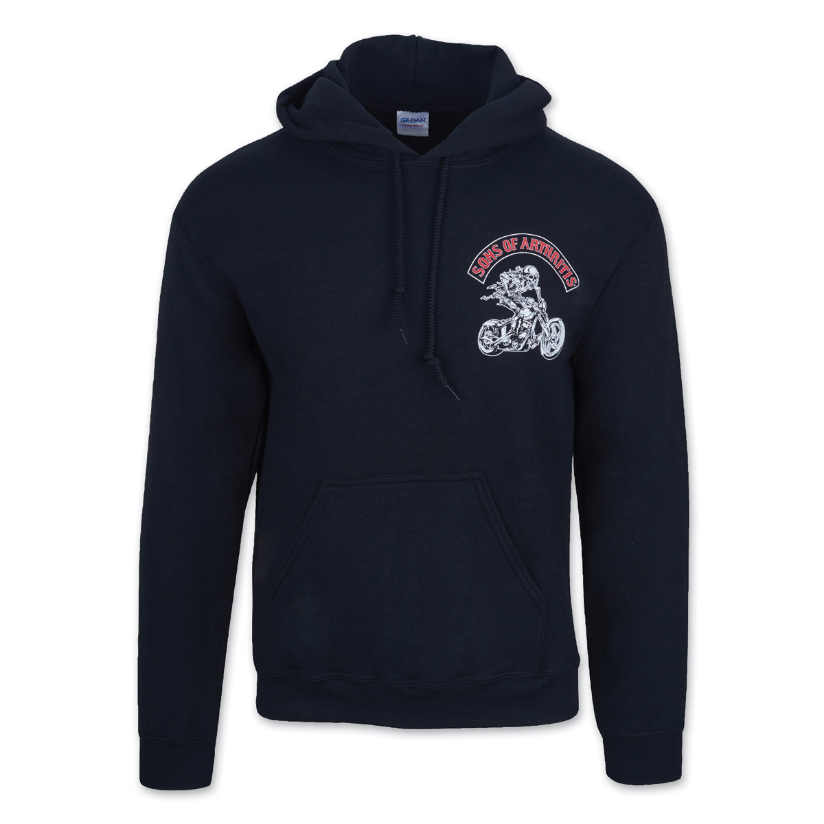 Sons of Arthritis Ibuprofen Chapter Black Hoodie