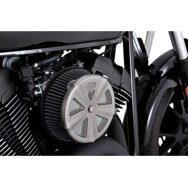 Vance & Hines Skullcap Crown Matte Crown Air Cleaner Insert