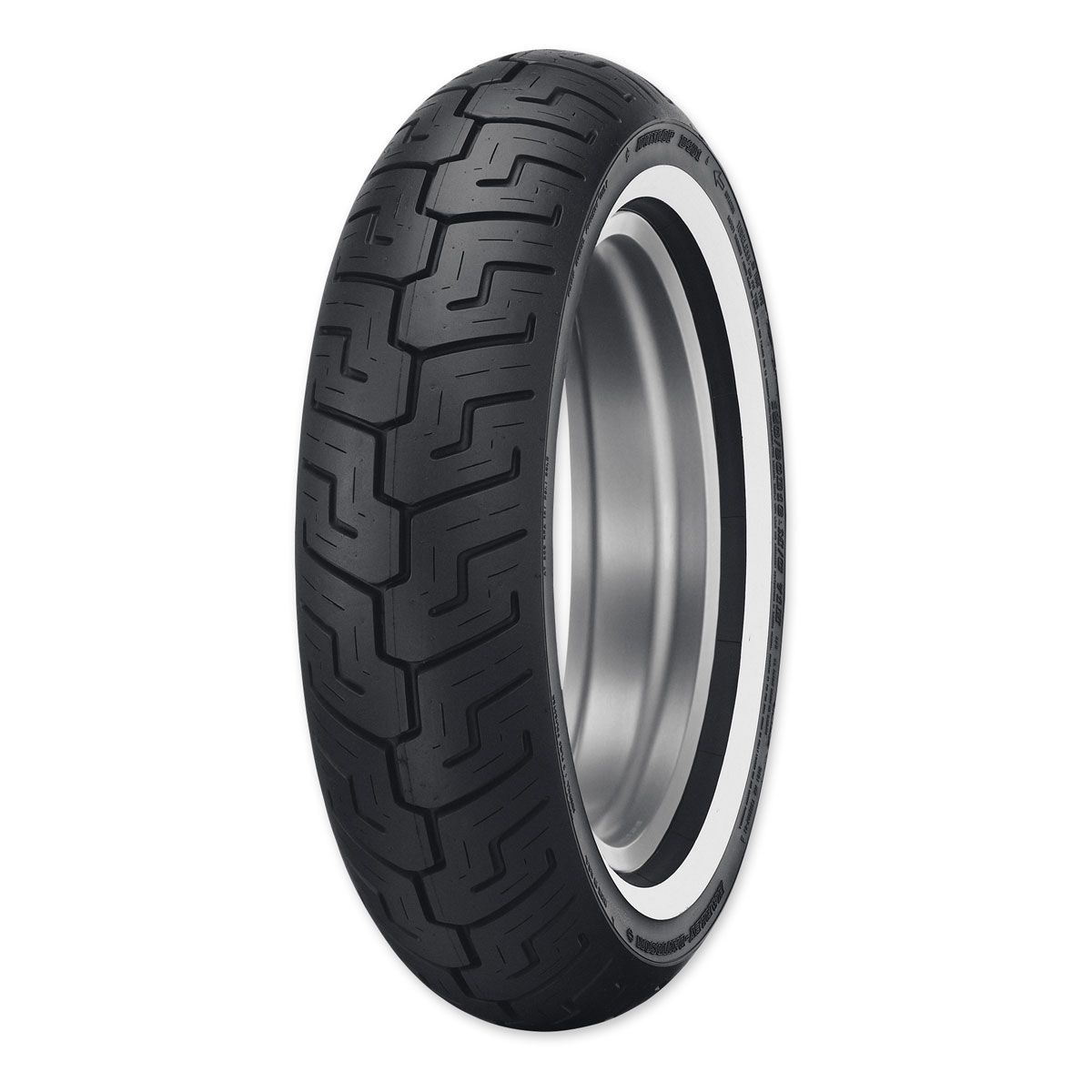 Dunlop D401 150/80B16 Medium Whitewall Rear Tire