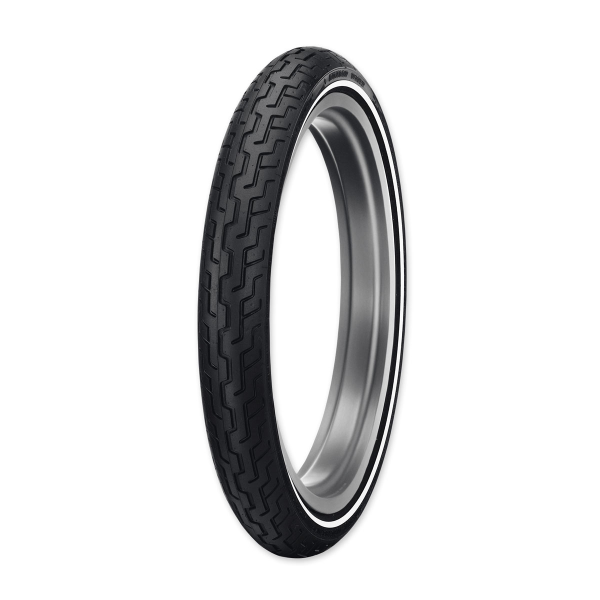 Dunlop D402 Touring MH90-21 Medium Whitewall Front Tire