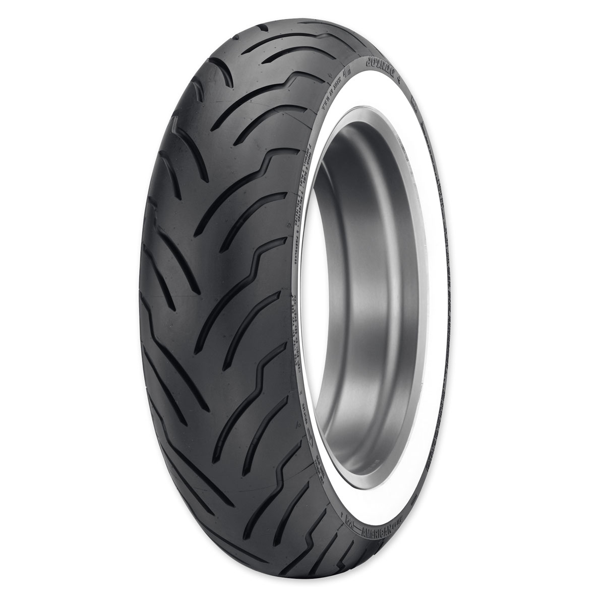 Dunlop American Elite MT90B16 Wide Whitewall Rear Tire